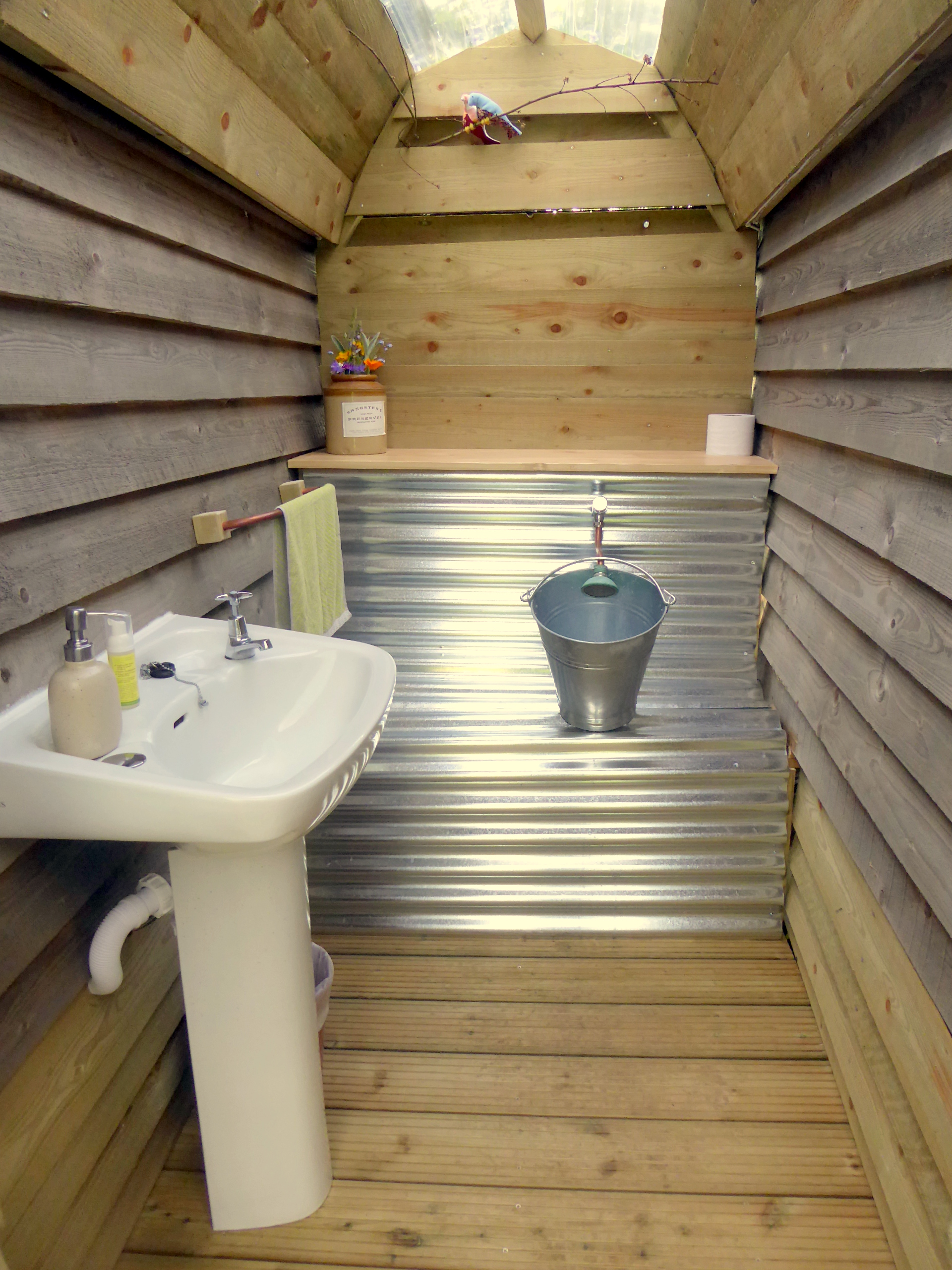 The 'wee hut' urinal