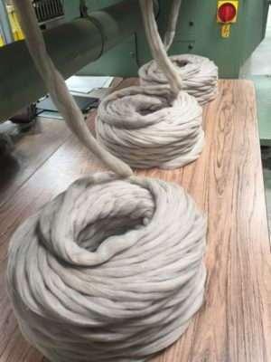 gilled fibre